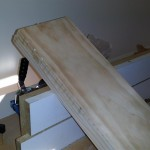 Rocker support - glue-up