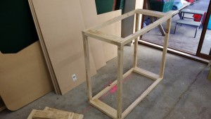 Basic frame from a length of 90x45