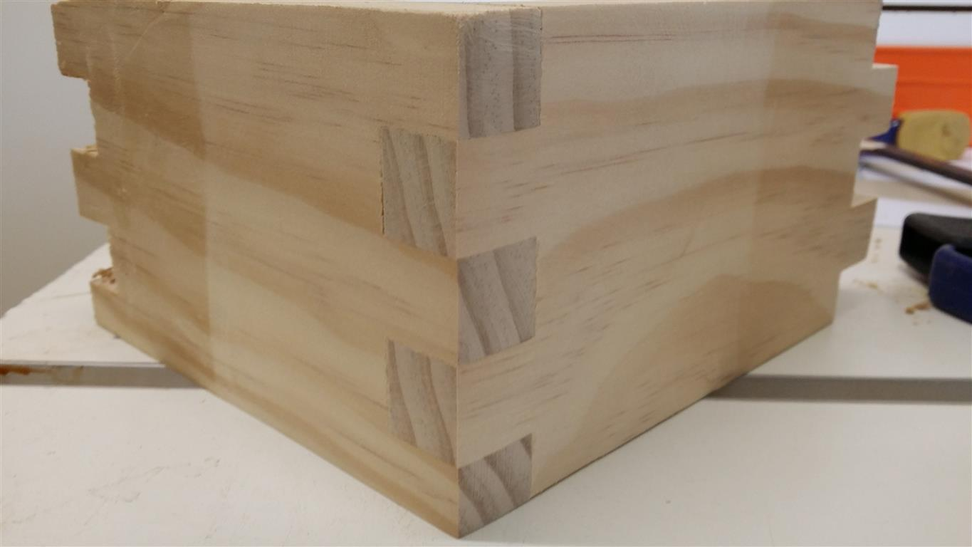 Single Blade Box Joint Jig Plans The Woodfather