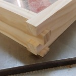 Square edges,