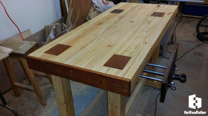 Amazing Building A Solid And Cheap Workbench Video Part Two The Dailytribune Chair Design For Home Dailytribuneorg