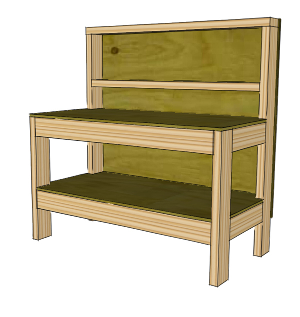 Very Children's Workbench Plans – The WoodFather KG45